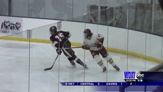 High School Hockey: Central remains undefeated with win over Davies, Spuds shut out Davies girls