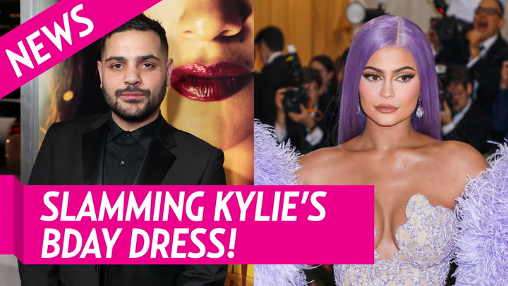 Kylie Jenner's Birthday Dress Post Gets Slammed by Designer Michael Costello