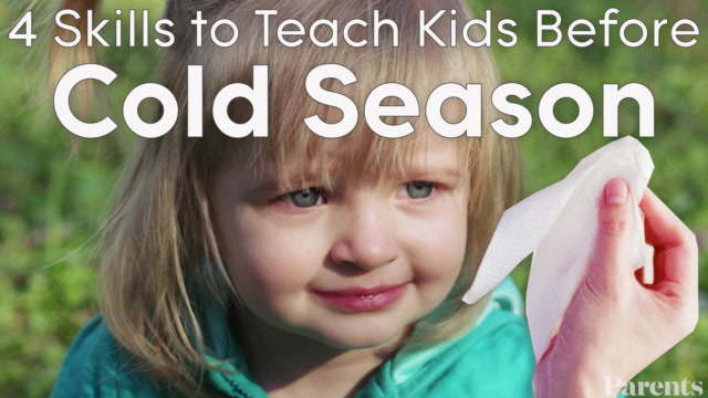 4 Skills to Teach Your Kid Before Cold and Flu Season