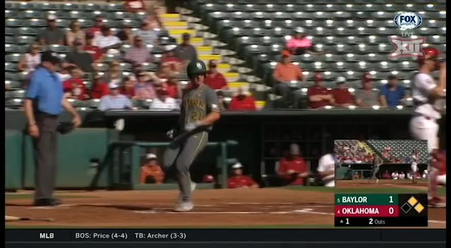2018 Big 12 Baseball Championship - Baylor vs. Oklahoma, Game 1 Highlights