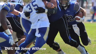 VIDEO: DWU running back Jonny Withrow previews game vs. Jamestown