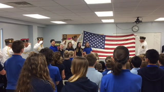 NRN St. Mary School Vets Day