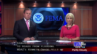 Walsh County waiting for FEMA funds to repair flooded roads
