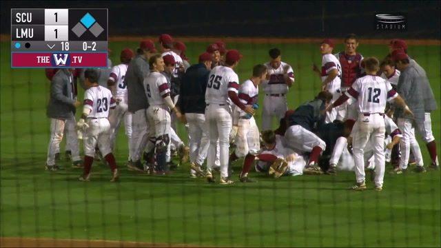 LMU walkoff in 18th