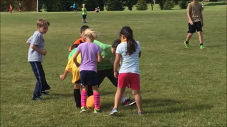 Ukraine Fizzy Booms delight soccer campers