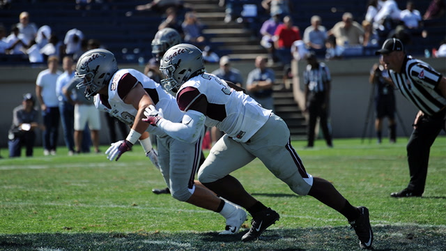 Preseason honoree Pat Afriyie confident in young defense at Colgate