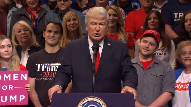 Alec Baldwin returns to SNL as Trump to poke fun at impeachment, the whistleblower and more