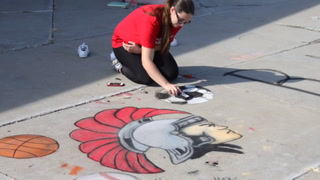 SHS Chalk Art Demo