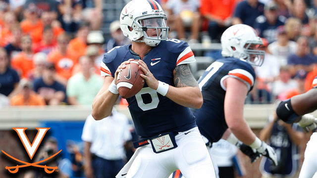 UVA QB Kurt Benkert: School-Record 455 Pass Yds vs. UConn
