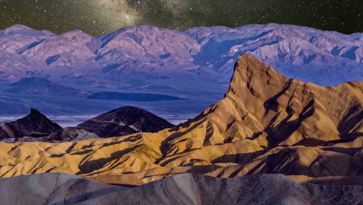 "This Gorgeous ""Layer-Lapse"" Video Stitches Together Footage From Southwestern Deserts"