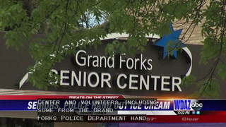 Drivers surprised by seniors offering ice cream