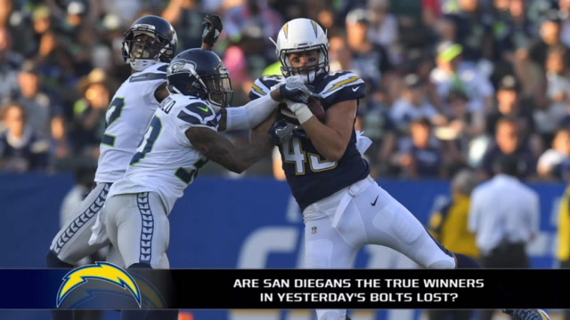 Were San Diegans the winners of yesterday's Charger loss?