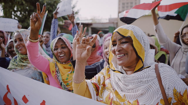 'Equality is coming': Sudanese women demand representation after Bashir's fall