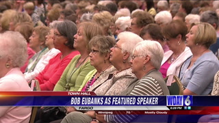Town Hall lecture series welcomed former 'The Newlywed Game' host Bob Eubanks Monday