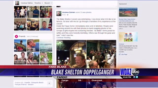 Blake Shelton has local doppelganger