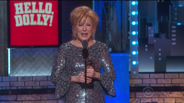 Bette Midler steals the show at the Tony Awards