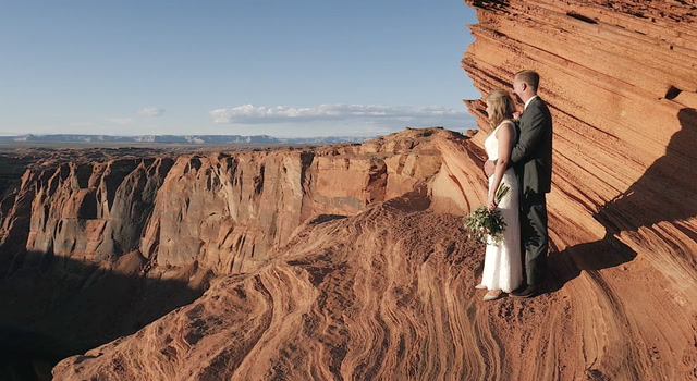 Caitlin + Adam | Lake Powell, Arizona