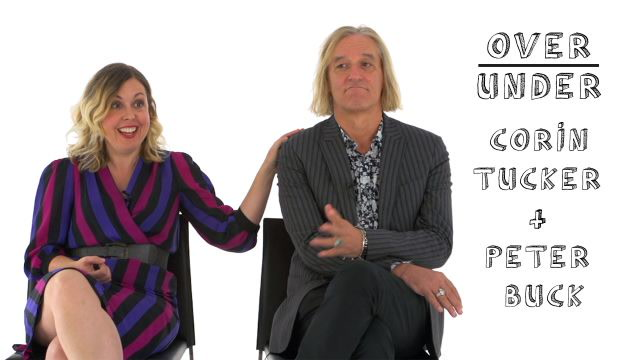 Corin Tucker & Peter Buck Rate Portland, Justin Bieber, and Cheez Whiz