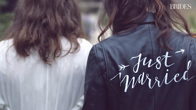 This 'Just Married��� Jacket Has Been Worn by Over 20 Brides
