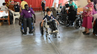 Submitted video: Wheelchair races in Peru