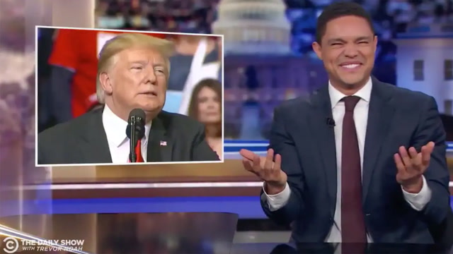 Late-night hosts react to Trump's windmill comments