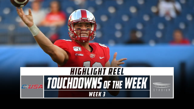 Conference USA Touchdowns of the Week: Week 3 (2019)