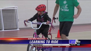 ICan Bike Program teaches students to ride bike