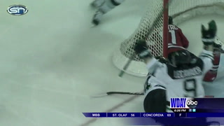 UND edges St. Cloud State 3-2