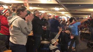 Duluth Curling Club erupts after Team Shuster scores 5 points in eighth end