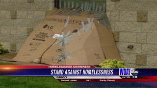 Children take a stand against homelessness