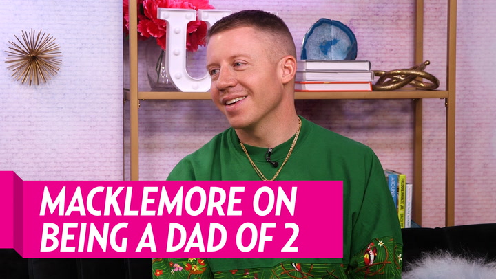 Macklemore Jokes That 'Birth Control' Is the Only Way to Prepare for Transition From One to Two Kids