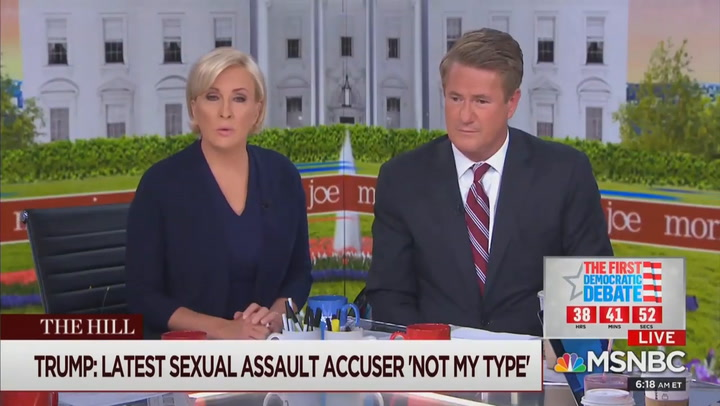 'Morning Joe' Host Mika Brzezinski to Trump: If E. Jean Carroll Is 'Not Your Type,' Who Would You Rape?