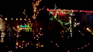 Halloween lights in Cloquet
