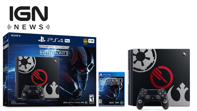 Star Wars Battlefront II PS4 Pro Revealed - IGN News
