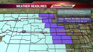 StormTRACKER Weather: Conditions Slowly Improve