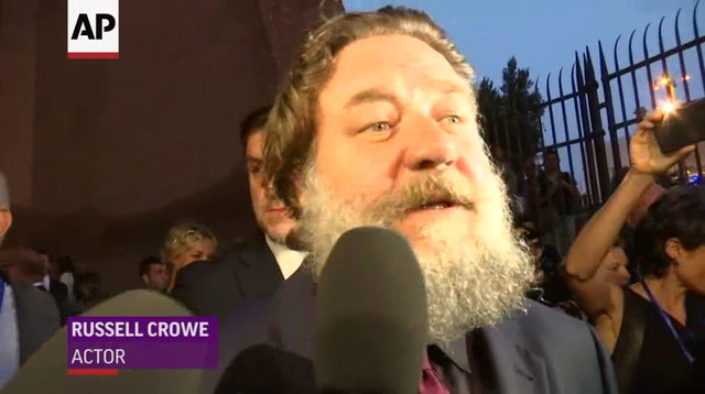 Are you not entertained? Crowe celebrates 'Gladiator'