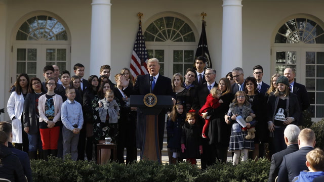 President Trump's full remarks to antiabortion activists