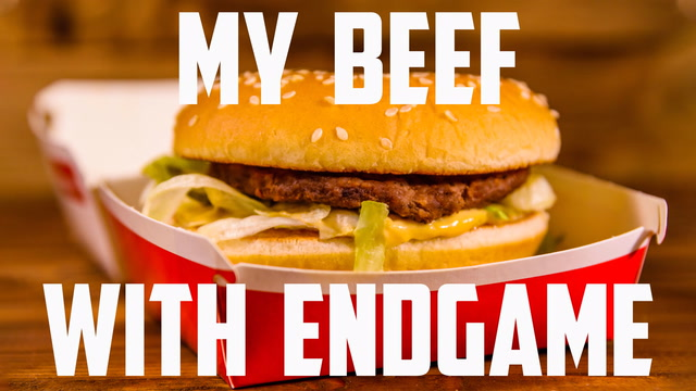 My beef with the cheeseburger line in 'Avengers: Endgame'