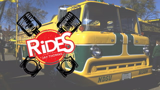 Rides with Jay Thomas Episode #5 Tailgating Firetruck
