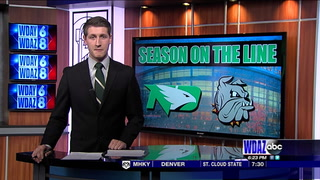 UND tops UMD in Frozen Faceoff 3rd place