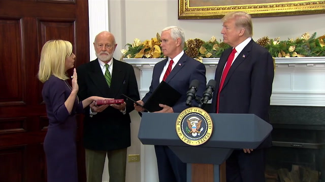 Kirstjen Nielsen sworn in as DHS secretary