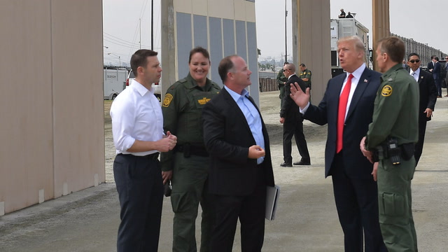 Trump: 'If you don't have a wall system, we're not going to have a country'
