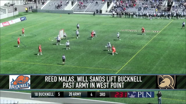 Reed Malas and Will Sands Push Bucknell Past Army
