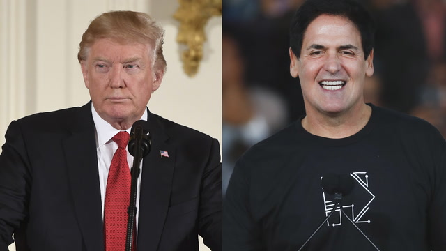 A brief history of Trump and Cuban's rivalry