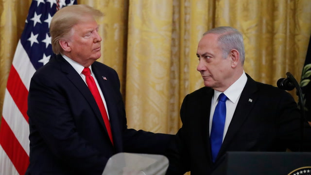 Trump calls his Israeli-Palestinian peace plan the 'most detailed proposal ever put forward by far'