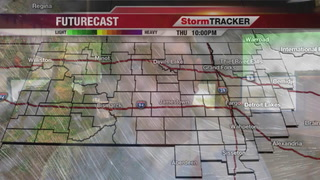 Friday Forecast: Windy and Some Snow