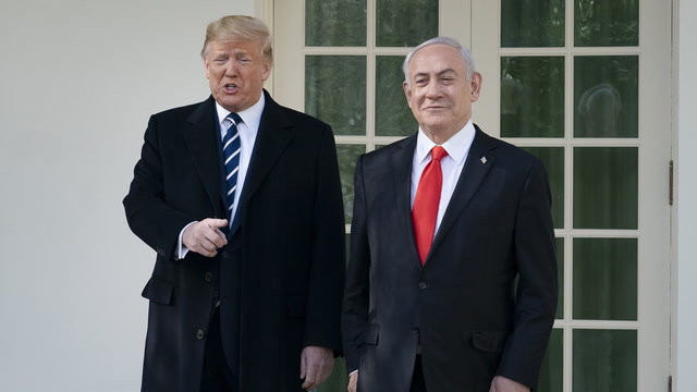 Netanyahu to Trump: 'I look forward to making history with you tomorrow'