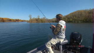 AnglingBuzz fall largemouth and smallmouth in clear water
