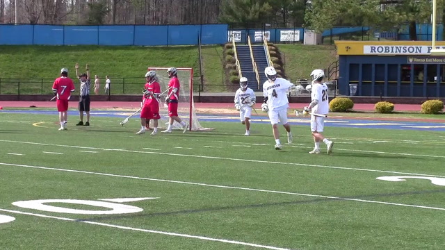 Robinson boys' lacrosse pulls away in the fourth quarter to defeat Northern