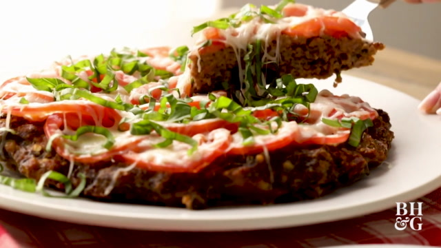Pizza-Topped Meat Loaf
